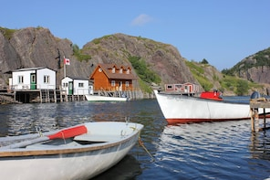 Quidi Vidi Village Tour, Hike, Brewey stop