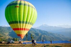 Pokhara: Hot Air Balloon Ride