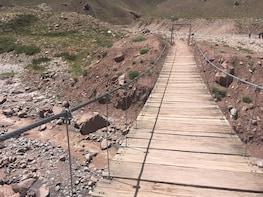 Aconcagua hiking tour Quebrada del Durazno