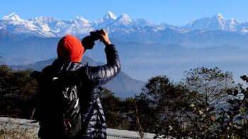 Nagarkot Sunrise View and Day Hiking in Kathmandu