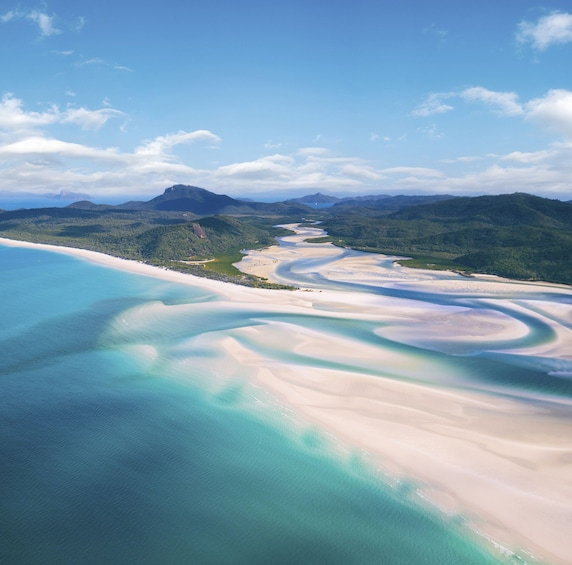 Show item 4 of 9. Whitehaven Beach & Hill Inlet Chill & Grill