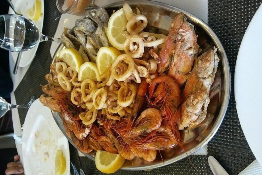 Tipasa see & Seafood@By Ouirane Tours-Algeria