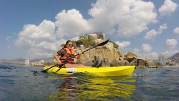 Aventura en Kayaks y senderismo en Islote El Morro