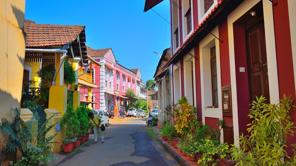 Show item 1 of 5. Goa Fontainhas Heritage Walking Join in Tour