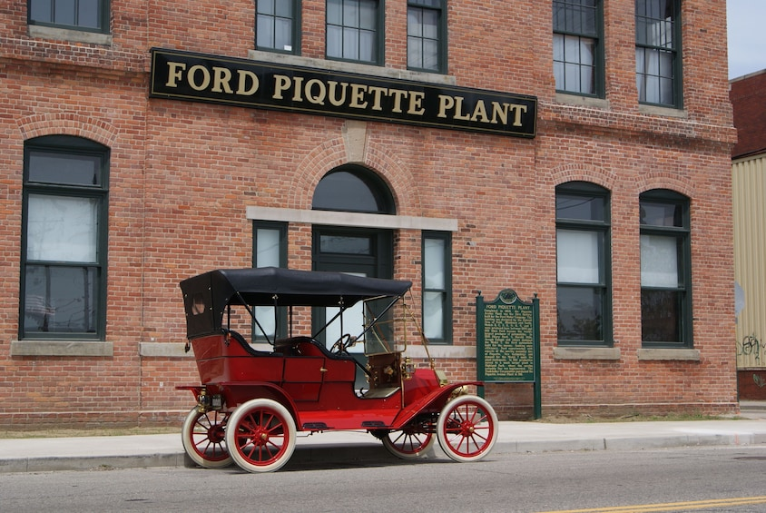 Show item 2 of 10. Ford Piquette Avenue Plant Admission