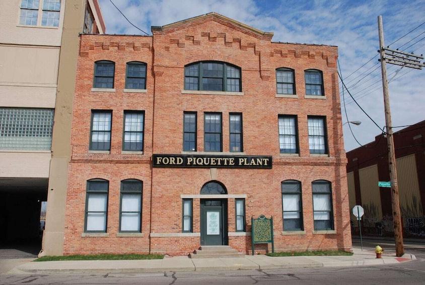 Ford Piquette Avenue Plant Admission