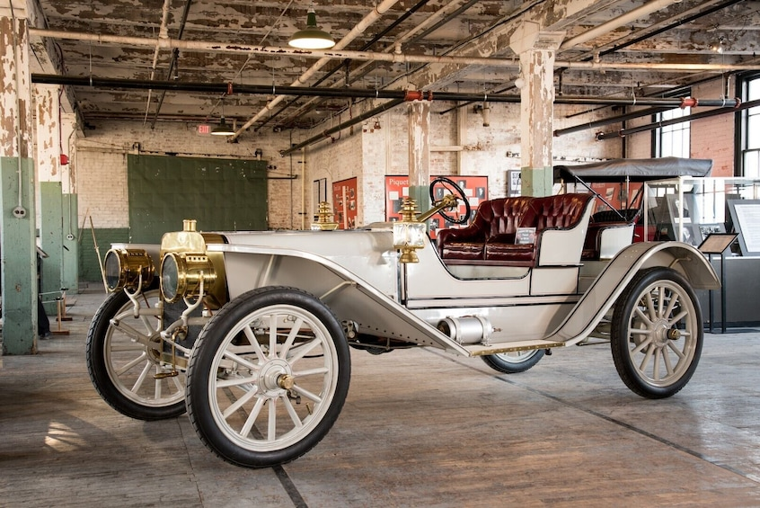 Show item 5 of 10. Ford Piquette Avenue Plant Admission