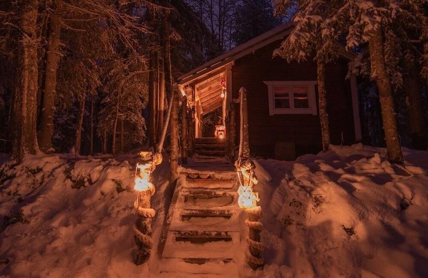 Show item 5 of 5. Astonishing IceFishing + Sauna experience