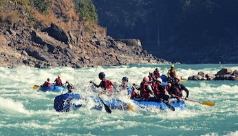 Show item 2 of 5. Luxury Swiss Camping and Rafting Adventure in Rishikesh