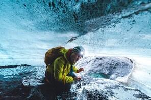 South Coast & Katla Natural Ice Cave from Reykjavik