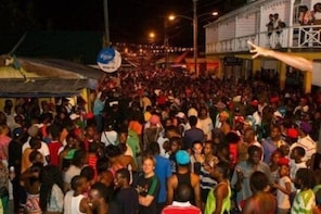 St. Lucia Gros Islet Friday Night Street Party