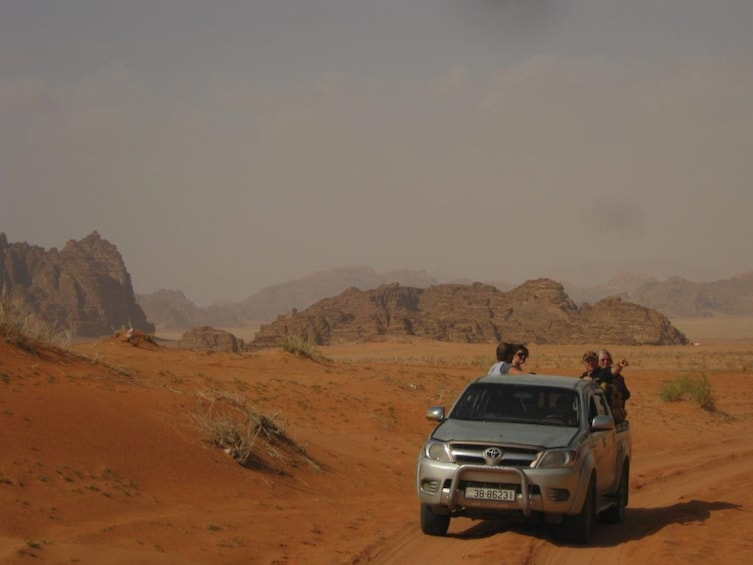 From Aqaba To Wadi Rum & Dead Sea Includes Lunch