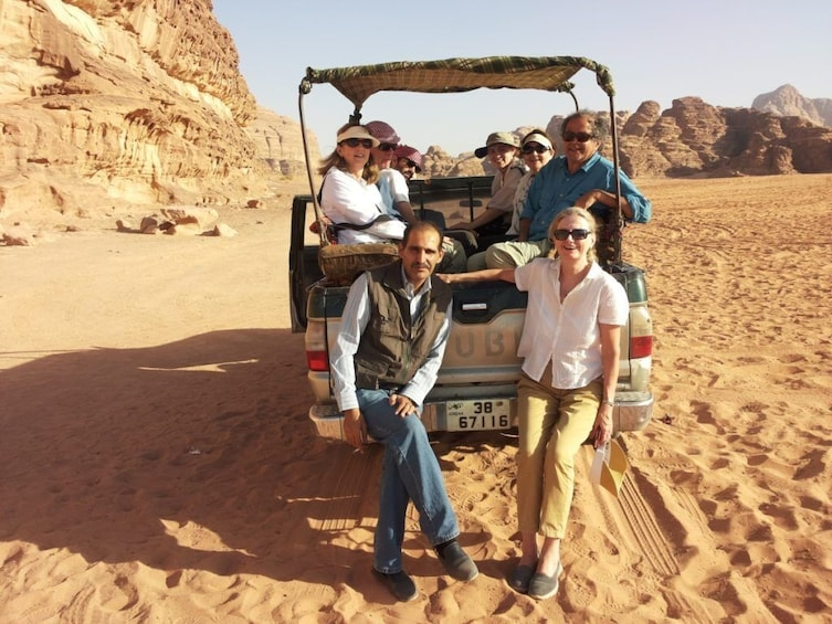 Show item 3 of 9. From Aqaba To Wadi Rum & Dead Sea Includes Lunch