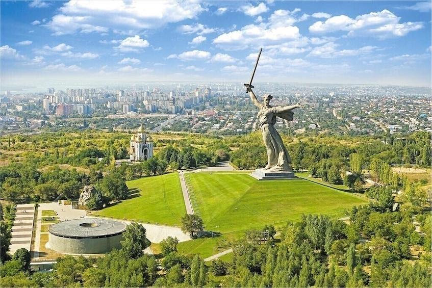 "Show item 1 of 10. Private Sightseeing City Tour ""Hero-city Volgograd"""