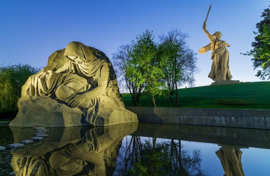 "Show item 3 of 10. Private Sightseeing City Tour ""Hero-city Volgograd"""