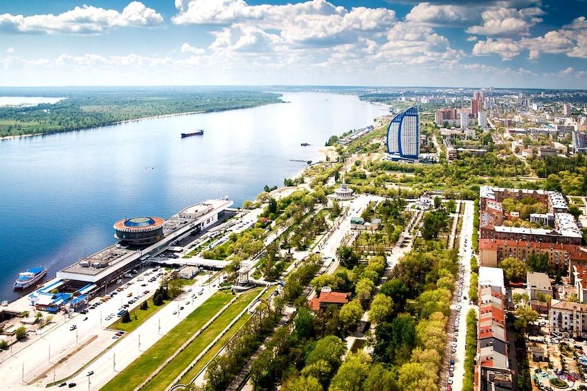 "Show item 2 of 10. Private Sightseeing City Tour ""Hero-city Volgograd"""