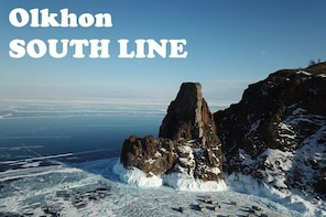 OLKHON island SOUTH LINE one day trip