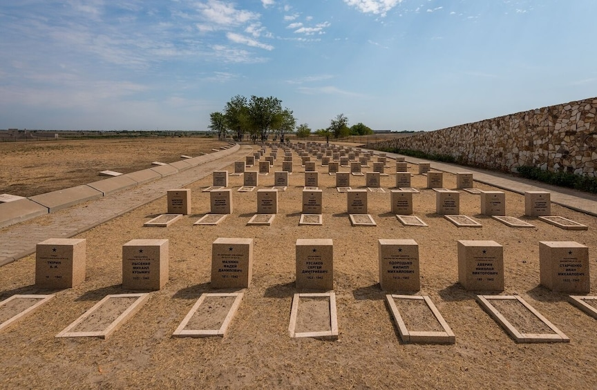Show item 3 of 10. Private Tour: Rossoshka cemetery & Soldiers' field memorial