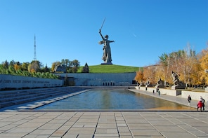 Private Tour: Llines of Defence of 64th Army in Stalingrad
