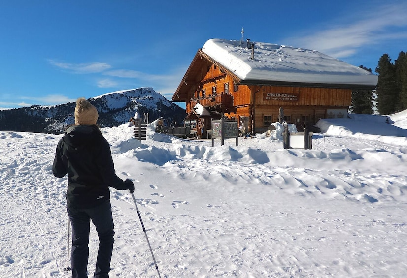 Show item 5 of 7. Snowshoe Tour in the Dolomites near Bolzano (1 day)