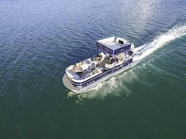Charter the Funship boat with slide! Dolphins, Sightseeing!