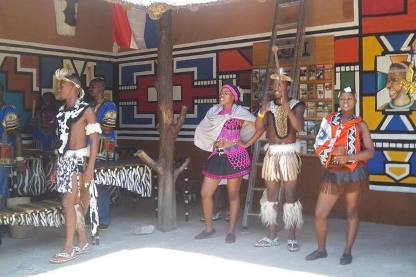 Show item 1 of 6. Lesedi cultural village tours