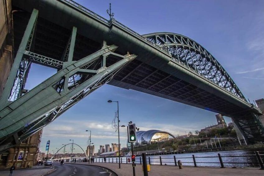 The Quayside and its bridges