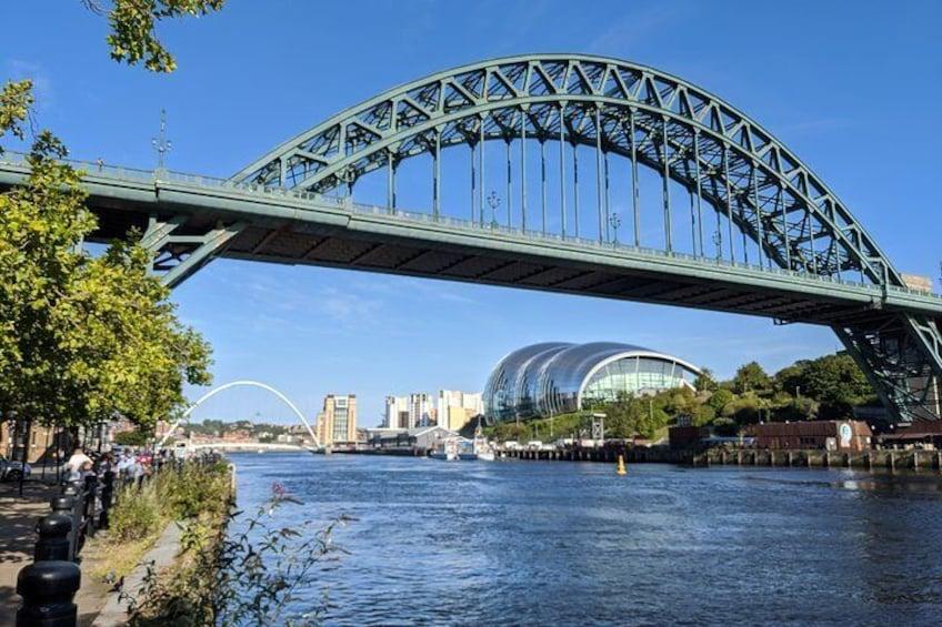 The Tyne Bridge, the Sage and the Baltic