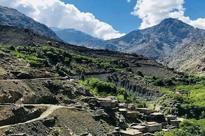 Three Valleys & Berber villages and Waterfalls Day Trip from Marrakech