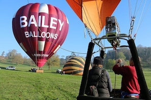 Hot Air Balloon Flight from South Wales