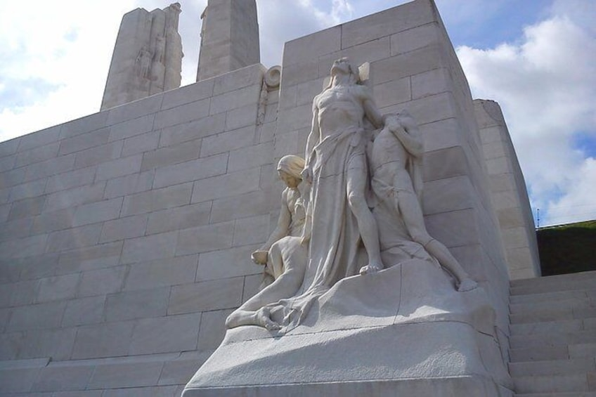 Show item 1 of 7. Vimy and Flanders Fields Canadian Battlefield Tour from Lille