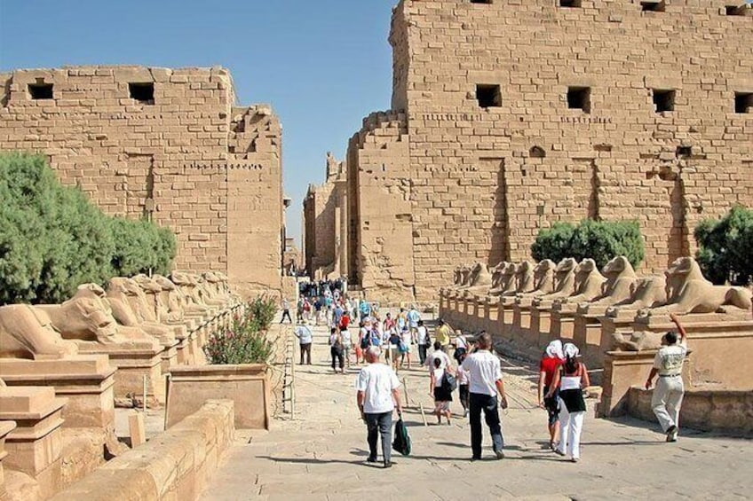 Show item 4 of 6. 2-Day Small-Group Tour of Luxor from Hurghada with Hotel