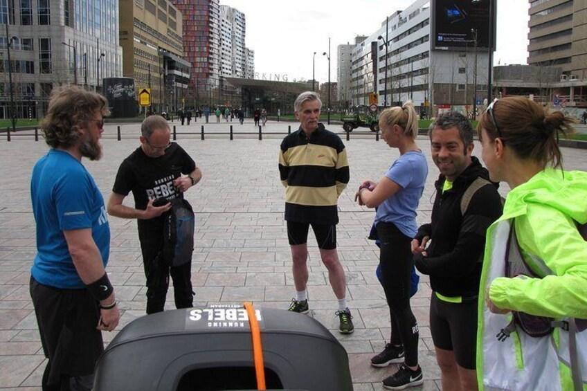 Worldwar 2 running tour Rotterdam