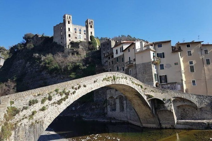 Show item 4 of 7. DOLCEACQUA & THE NERVIA VALLEY - The home of Rossese wine and Monet's beloved bridge
