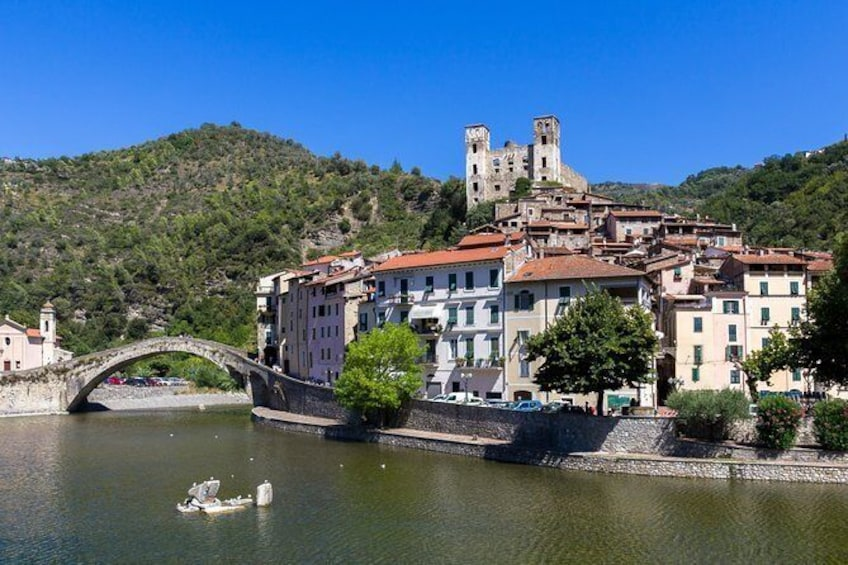 Show item 1 of 7. DOLCEACQUA & THE NERVIA VALLEY - The home of Rossese wine and Monet's beloved bridge