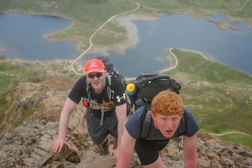 Guided Scrambles Snowdonia