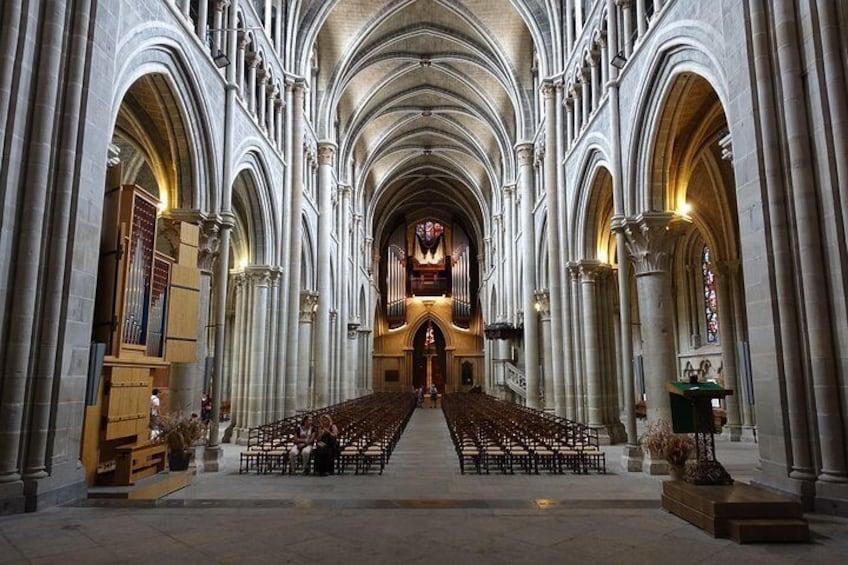 Cathedral Notre Dame by Guilhem Vellut